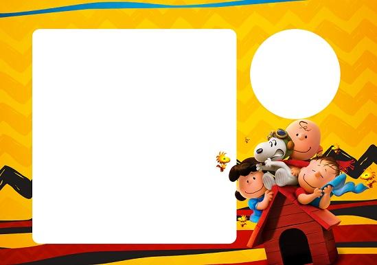 Charlie Brown Picture Frame.SNOOP GIBI_08 Fazendo A Nossa Festa ...